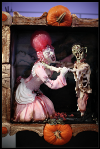 Vampire vs Zombie Marie Antoinette by the Blingbats on Halloween Wars