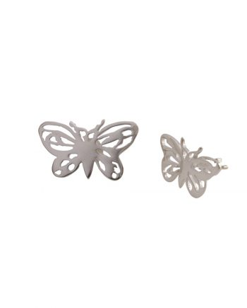 Butterfly mismatched earrings