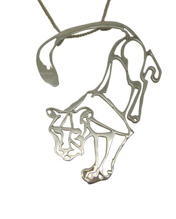 Defiance Lioness pendant in aid of The Born Free Foundation