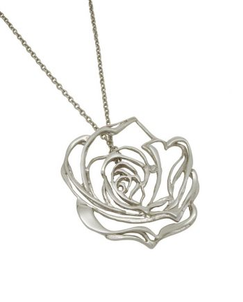 Josie Rose white diamond pendant